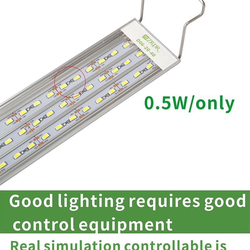 Aquário lâmpadas led, micro nano brevemente crescimento