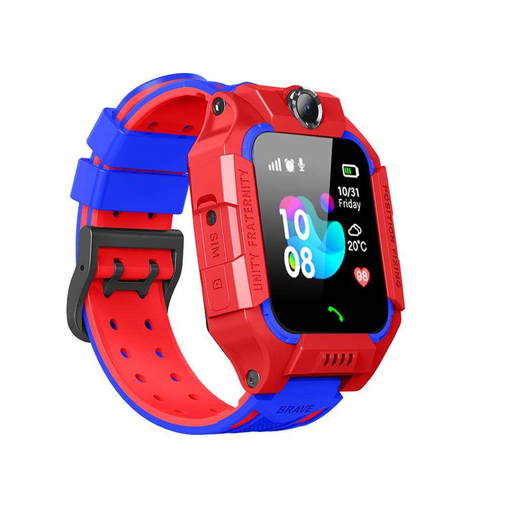 Z6 Smart Watch IP67 Deep Waterproof 2G SIM Card GPS Tracker SOS Call Localization Remind Children PS Positioning With Camera image