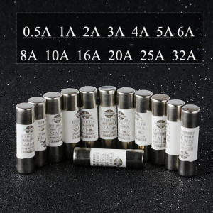 20pc/lot R015 Ceramic Fuse Cyl
