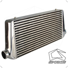 Aluminium Front Mount Turbo Intercooler 600*300*76 Mm In/Outlet 2.5 \
