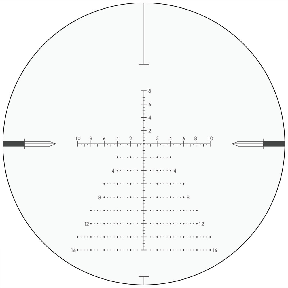 WESTHUNTER Plane-Riflescopes Hunting-Scope Optical-Sights Etched Reticle 4-16x44 ffp