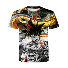 2021 New Summer Japanese Anime 3D T-Shirt Men/Boys And Girls Are Suitable For Monkey Fights Harajuku O-Neck Oversized T-Shirts