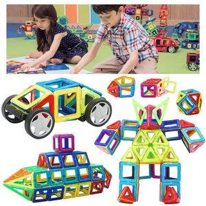 Image 3 - גדול גודל מגנטי מעצב בנייה סט דגם & בניין צעצוע מגנטים מגנטי בלוקים צעצועים חינוכיים לילדים