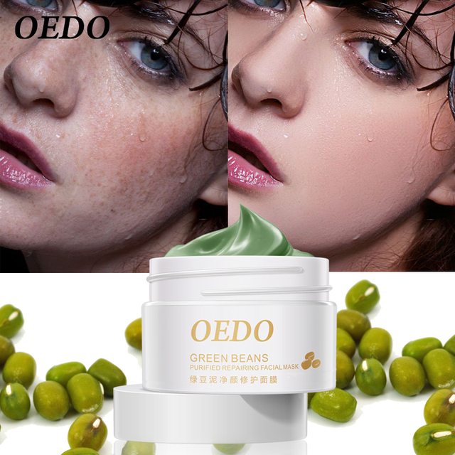 Hot Face Cleansing Mung Bean Mud Peeling Acne Blackhead Treatment Mask Remover Contractive Pore Whitening Hydrating Care Creams 2