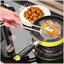 Kitchen Gadgets Folder Colander Stainless-Steel Fried Food Cocina. 1pc STRAINER-FILTER