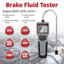 12V Tester liquido freni automatico strumento olio freno Auto digitale BF100/BF200/DY23B strumento olio automatico DOT5.LED indicatore controllo Display tester