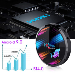 Image 3 - H96 Max X3สมาร์ทAndroid TV BOX Android 9.0สมาร์ทกล่อง8K Amlogic S905X3 4GB 128G/64G/32G ROM 2.4Gและ5G Wifi 1000M 4K Media Player