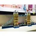 4295 stücke Welt Berühmte Architektur London Tower Bridge Creator Expert Kompatibel Legoinglys Bausteine DIY Spielzeug 17004 10214
