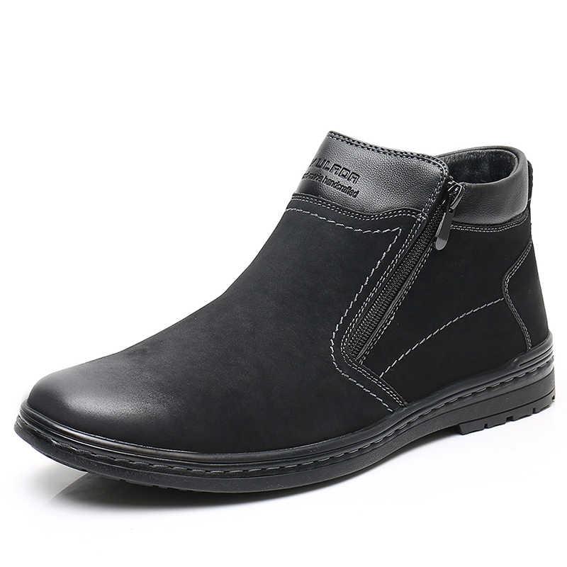KULADA Hot Sale Boots Men's Winter