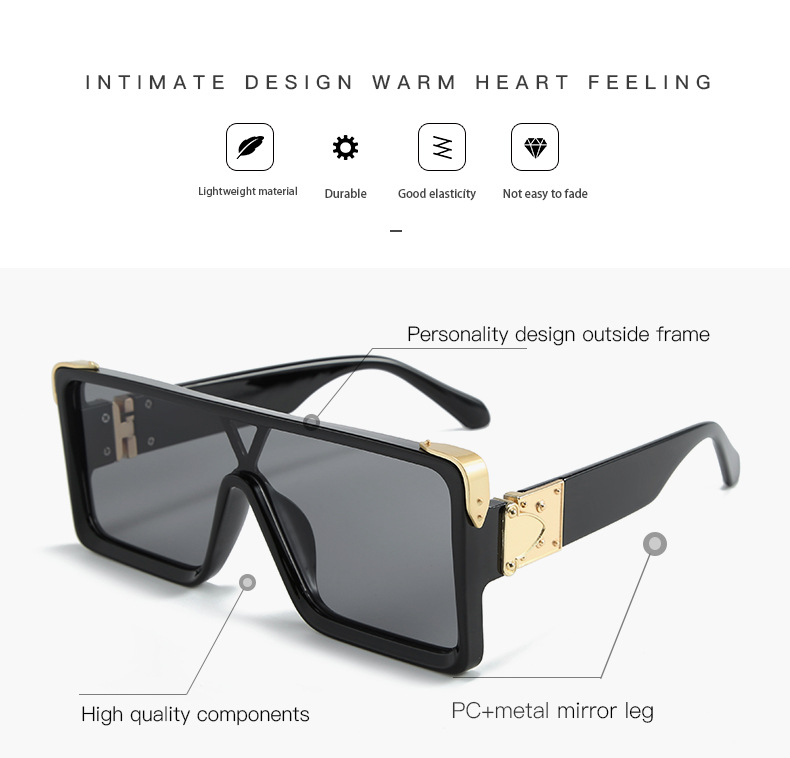 Sunglasses Men Square Classic Accesories Driving-Goggle Outdoor Sports