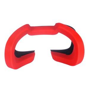 Image 3 - Zachte Siliconen Oogmasker Cover Voor Oculus Rift S Ademend Licht Blokkeren Eye Cover Pad Voor Oculus Rift S Vr headset Onderdelen