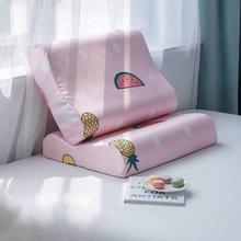 Латексный чехол для подушки 2 шт четыре сезона хлопковая дышащая