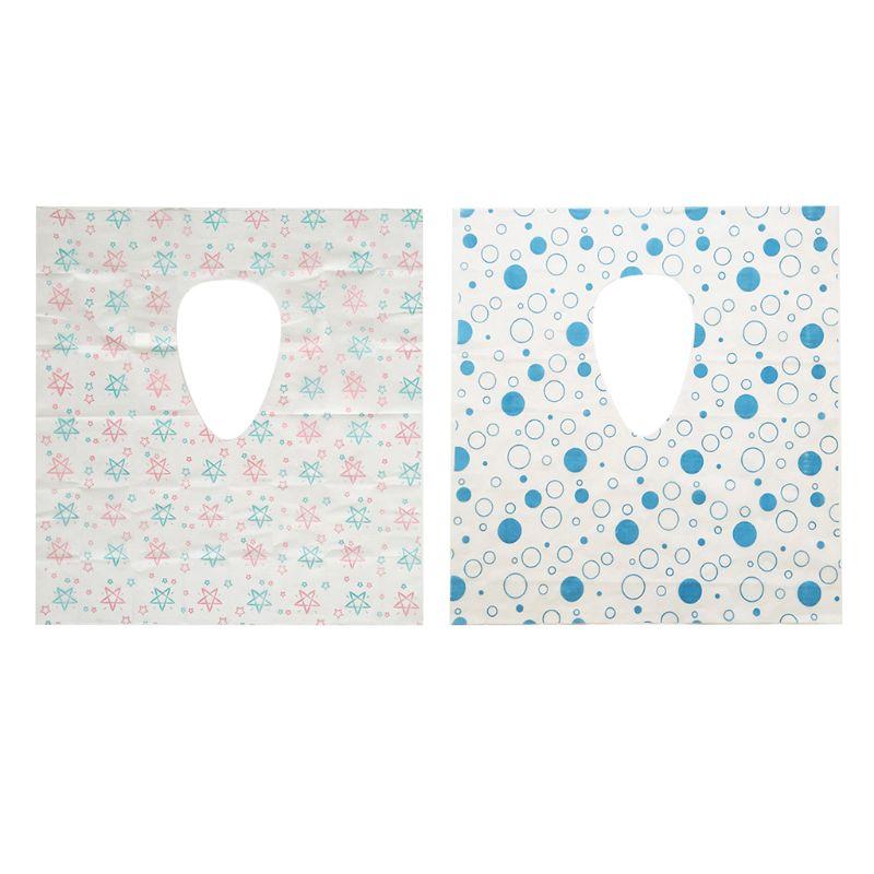 20 Pcs Disposable Toilet Seat Covers Public Toilet Potty Protectors For Kids