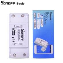 Itead Sonoff di Base WiFi Interruttore di Telecomando Senza Fili Intelligente Relè di Controllo di Automazione Domestica Domotica Modulo Funziona con Nido di Alex