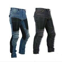 Для KOMINE PK-719 мотокросса, сетчатые джинсы для мотоцикла, грязного велосипеда, MTB джинсы для езды, гоночные штаны с набедренными и наколенниками