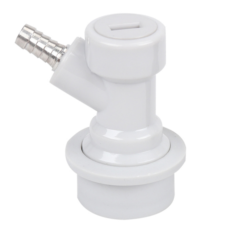 Homebrew Beer Keg Connector Dispenser Ball Lock Keg Disconnect Liquid / Gas Connectors Black/White Barware Accessories