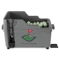 FUNGREEN Golf Ball Dispenser Halb Automatische Können Halten 80 stücke Bälle Golf Club Organizer Halbautomatische Golf Ball Dispenser