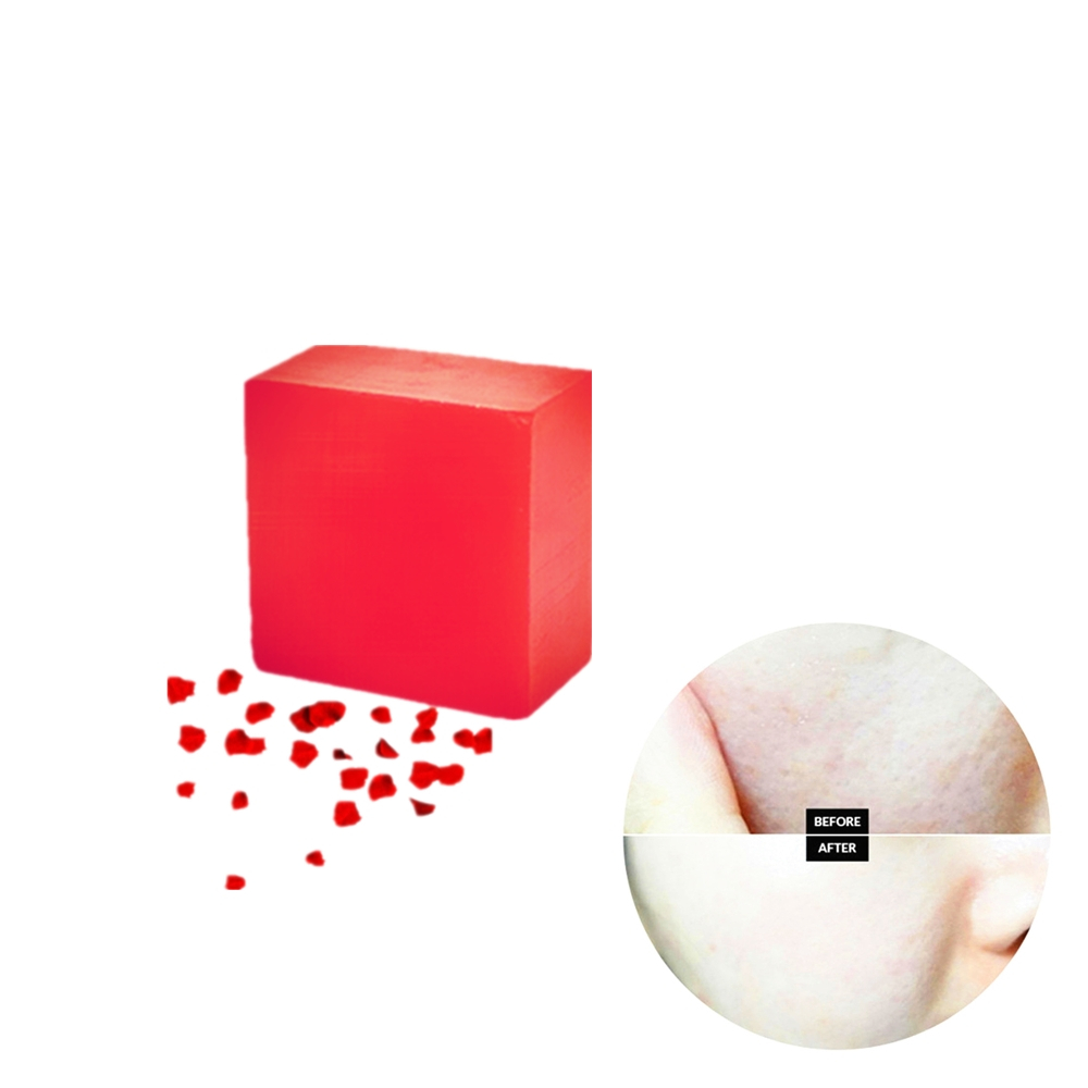 Whitening Soap Natural Active Enzyme Rose Extract Nipple Intimate Enzyme Crystal Bath Shower Bleaching Soap 100g/Pcs