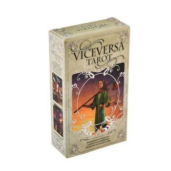 78pcs Vice Versa Tarot Kit Tarot Cards Oracle Deck Family Party Board Game Toy H58D vice versa