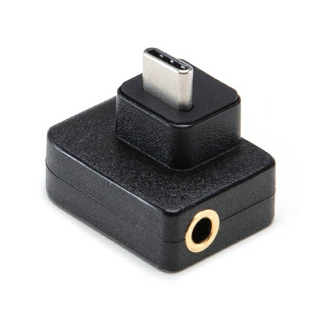 Для DJI Осмо действия микрофона 3.5 мм/USB-С адаптер аудио внешний микрофон крепление для TRS штекер действий Джи аксессуары Осмо