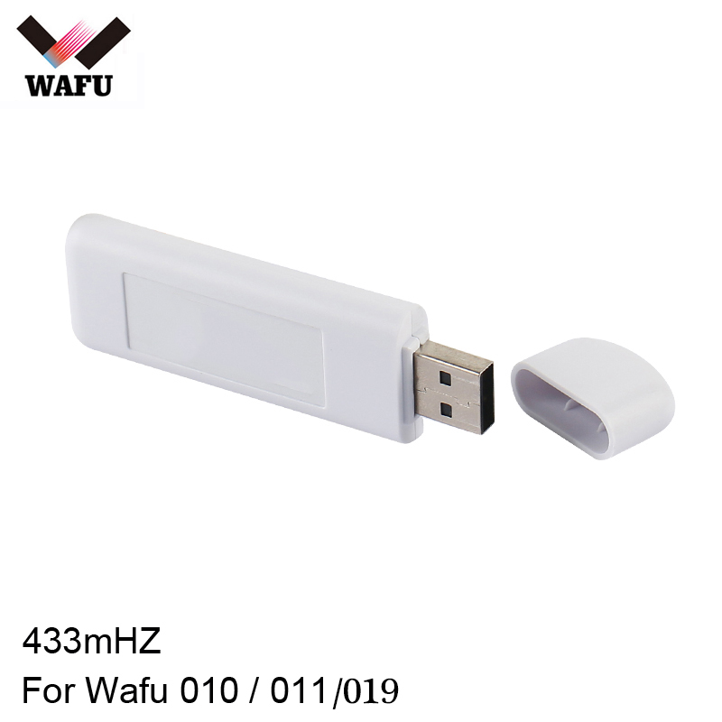 Wafu Wifi Adapter Smart Lock APP Network Wireless 433mHZ Remote Control IOS Android Mobile Phone APP For Lock Wafu 010 / 011/019