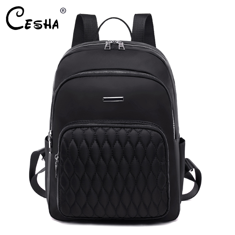 Fashion Casual Women Travel Backpack Pretty Style Girls School Book Backpack High Quality Durable Soft Fabric Women's Backpack