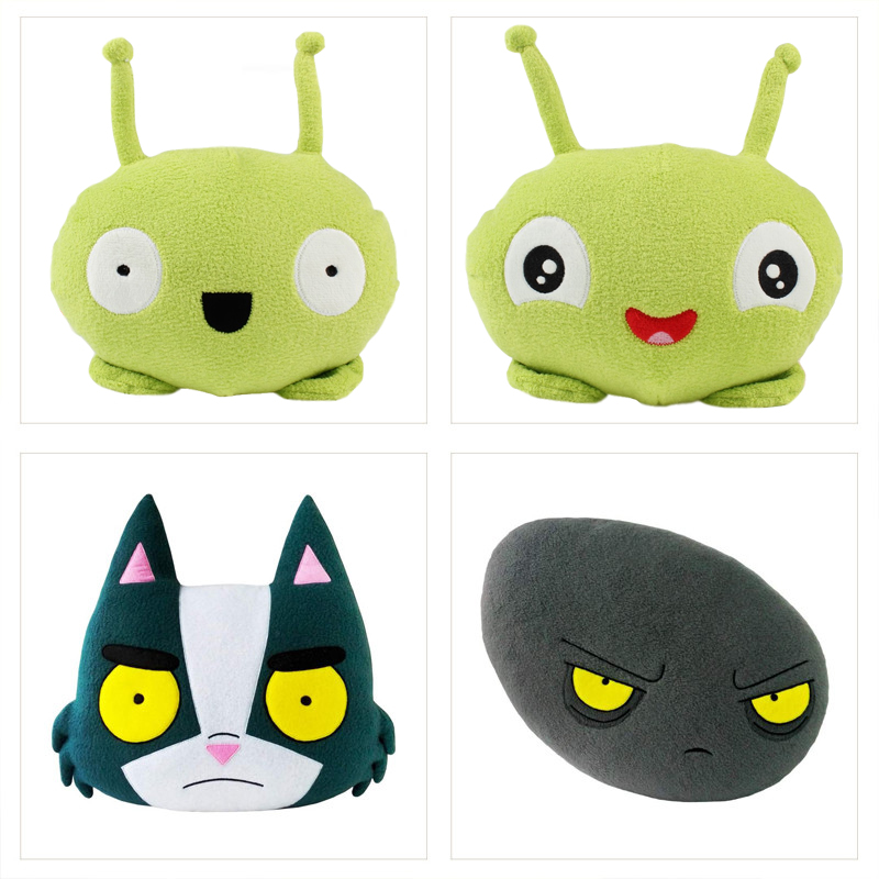 5 Styles Mooncake Chookity Final Space Plush Figure Toy Soft Stuffed Doll For Kids Birthday Gift 25cm