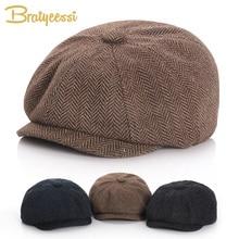 New Baby Hat for Boys Vintage Newsboy Kids Cap Baby Boys Hat Autumn Winter Baby Cap for Boy Children Hats 52/54