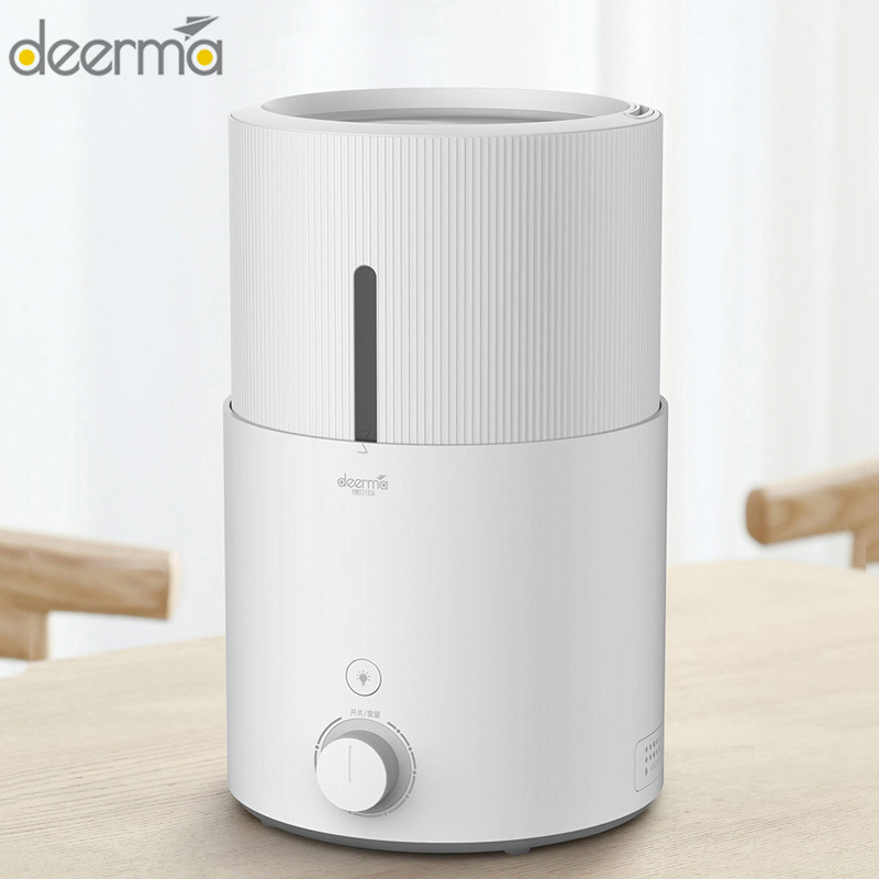 Original Deerma DEM - SJS600 Ultrasonic Air Humidifier 5L Large Capacity Air Purifying Aromatherapy Essential Oil Diffuser