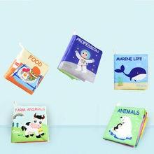 Chico ropa libro infantil, juguete para desarrollar la inteligencia cognitiva, libro suave para bebé, juguete educativo, historia de inteligencia, 2020