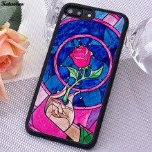 Ketaotao rosa beauty beast nuovo arrivo Molle di TPU Copertura Della Cassa Del Telefono Per il iPhone 6S 7 8 Più di 5S SE X XS XR 11 PRO MAX Per samsung