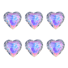 Chandelier-Parts Catchers Windows-Light Rainbow-Maker Hanging Crystal Heart-Prisms Ab-Color