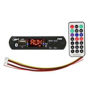 Image 1 - ARuiMei color screen 12V MP3 WMA Wireless Bluetooth 5.0 Decoder Board Audio Module USB FM TF Radio AUX input no Amplifier