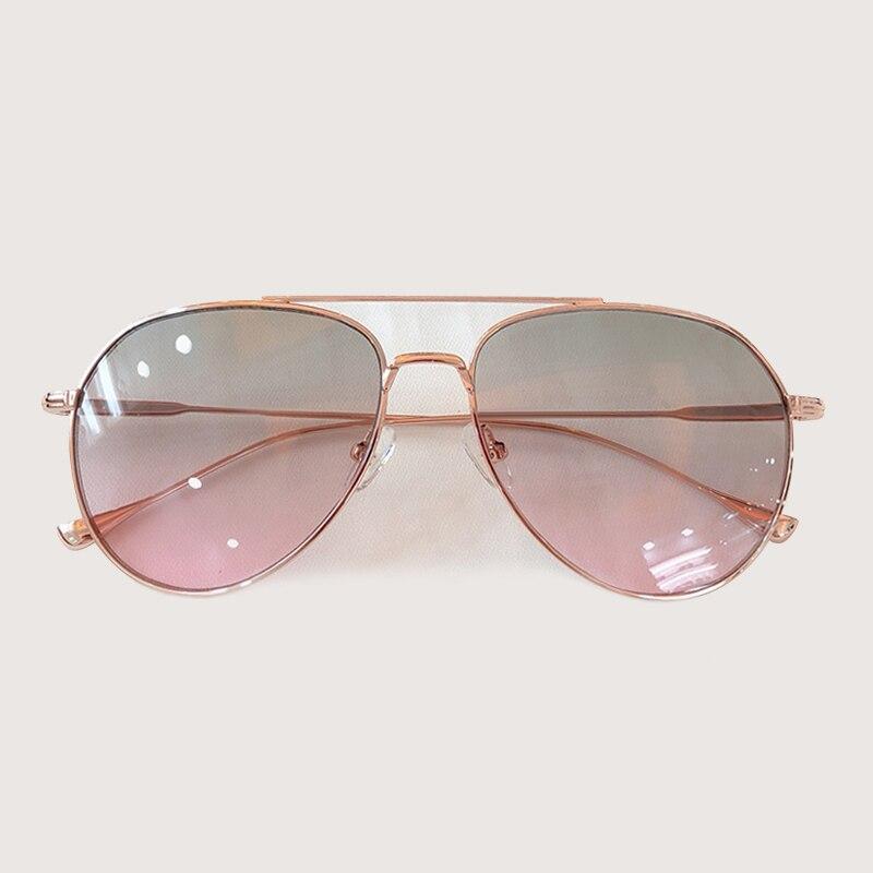 Retro Pilota Occhiali Da Sole Donne Degli Uomini di Modo Occhiali Da Sole Abbigliamento Accessori gafas de sol hombre - 4