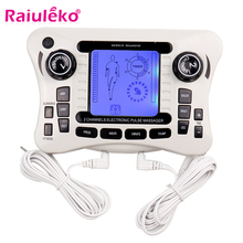 Electronic Pulse Massager/tens Ems Trainer Body Massager Muscle Stimulator Back Body Neck  Massage Dual Channel Therapy Machine