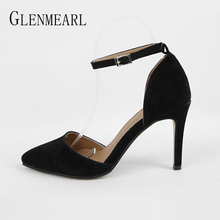 Women new sandals single shoes fashion High Heels Brand Female Spring Summer Shoes Casual Plus Size Pointed high heels