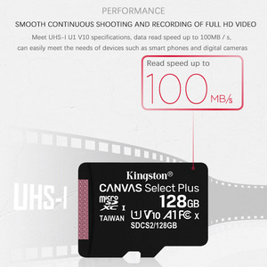 Image 3 - Kingston mini Speicher Karte 256GB C10 Micro SD Karte 16GB 32GB 64GB 128GB Klasse 10 u1 Flash TF Microsd Karte für Smartphone Computer