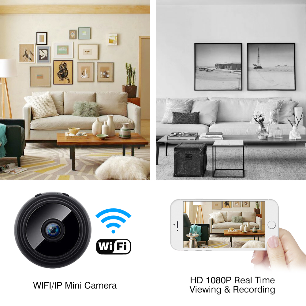 1080P Full HD Night Vision Wireless IP Camera