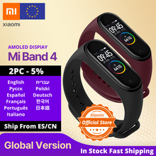 Global Version Xiaomi Mi Band 4 Smart Watch Heart Rate Fitness Activity Tracker Bracelet Colorful Display Smart Band 135 mAh(China)