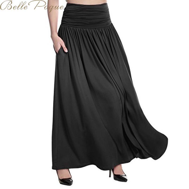 Belle Poque Women Summer High Waist Bow Tie Skirt Dot Print Midi Skirts Ladies Streetwear Slim Bottoms Saias 2019 Plus Size 5XL