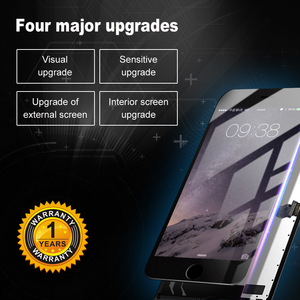 Image 2 - AAA + + + Cho iPhone 6S Màn Hình Hiển Thị LCD 100% Với 3D Buộc Bộ Số Hóa Màn Hình Cảm Ứng Thành Phần Không + Tặng Kính Cường Lực + Dụng Cụ