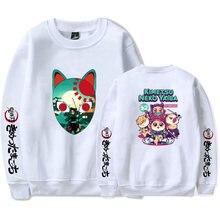 Kimetsu no yaiba demon slayer толстовки пуловеры с длинными