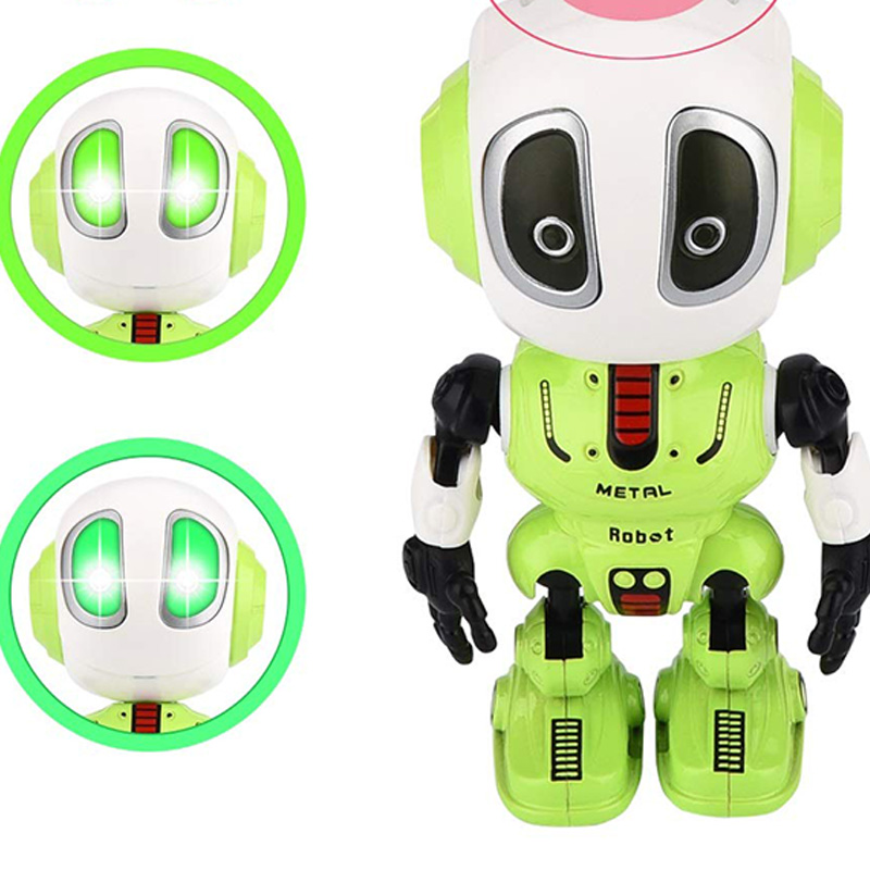 Mini Robotic Toys With LED Eyes Contact Control Best Birthday Gifts for 3 Year Child 1