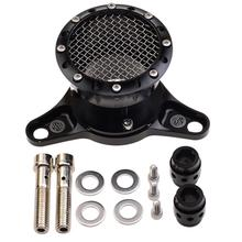 GOOFIT Air Cleaner Intake Filter System Kit Black Velocity Stack For Harley Sportster Iron 883 XL883 XL1200 J078-KL019