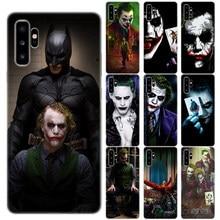 Mroczny rycerz Joker Karta krzemu skrzynka dla Coque Samsung Galaxy uwaga 10 Pro 5G uwaga 9 8 5 M10 M20 M30 M40 krzemu telefon pokrywa