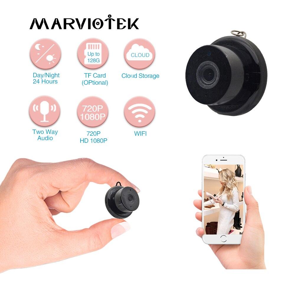 1080P Wireless Mini Camera Home Security Camera IP CCTV Surveillance Camera WiFi Night Vision Motion Detect Baby Monitor P2P IR