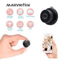 Minicâmera de vigilância residencial, 1080p sem fio mini hd residencial vigilância cctv wi fi visão noturna detector de movimento monitor bebê p2p