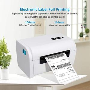 Image 3 - NETUM Thermische Label Drucker mit Hoher Qualität 110mm 4 zoll A6 Label Barcode Drucker USB Port Arbeit mit paypal etsy Ebay USPS