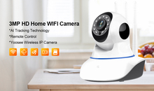 Wireless IP Camera 1080P 1536P Home Security Indoor Two Way Audio Pan Tilt CCTV WiFi Camera 3MP Baby Monitor Video