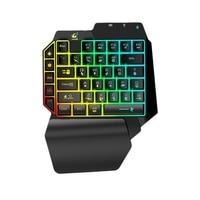 G11 39 Keys Mini Wireless Single Handed Keyboard Bluetooth 4.2 Phone PC Macro Gaming Keypad for Windows Android IOS